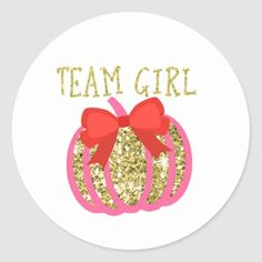 Get your hands on great customizable Gender Reveal Pumpkin Stickers stickers from Zazzle. Choose from thousands of designs or make your own today! Fall Gender Reveal, Gender Reveal Games, Baby Shower Gender Reveal, Pop Baby Showers, Baby Shower Fall, 1st Birthday Favors, Gender Reveal Party Invitations, Pink Pumpkins, Reveal Parties