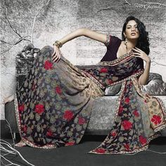Lakshmipati Stylish Sarees   2011-12 Collection  #Laxmipati #Sarees Victor Hugo, Laxmipati Sarees, Half Saree Designs, Saree Trends, Stylish Sarees, Buy Sarees Online, Indian Designer Wear, Saree Collection, Fashion Outfits