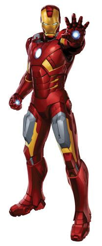 RoomMates Avengers - Iron Man Peel & Stick Giant Wall Decal