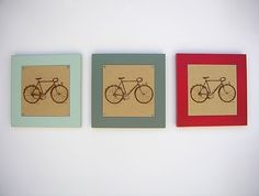Bicycle Baby Nursery | bicycle nursery art | Nursery & Baby