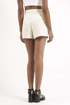 Boucle High-Waisted Shorts - Trending Now - New In - Topshop USA