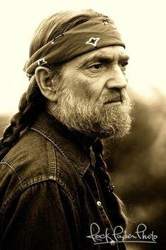 Willie Nelson by Van Redin