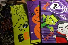 Got these awesome lil #halloween bags! Gonna alter them! 25 cents each! #alteredbag #inkypinkyboo