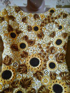 Modern Crochet, Embroidery Stitches, Blouse, Dresses, Women, Fashion, Irish Lace, Vestidos, Moda