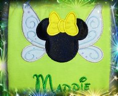 Tinker Bell Minnie Mouse T Shirt Mickey - Disney Family Vacation Personalized - Tink. $22.00, via Etsy.