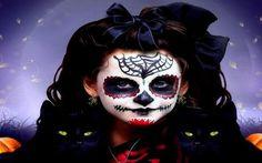 HD ~Halloween Candy~ Wallpaper, Day of the Dead, Black Cats, Dia doe los Muertos