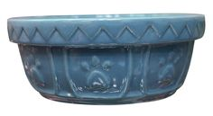 ETHICAL PRODUCTS 773826 Old World Antique Dish for Dogs, 5-Inch, Slate Blue *** Trust me, this is great! Click the image. : Dog bowls
