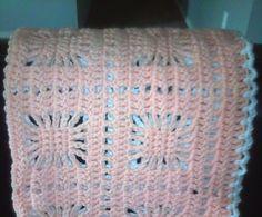 *Free Crochet Pattern: Light Afghan Throw