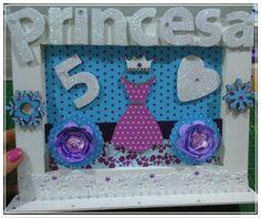 Quadro princesa frozen 😍
