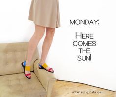 Coloured sandals So bright from #unidednude  http://www.seraphita.es/p/1219/sense-lo-united-nude