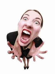 Resultado de imagen de loca gritando