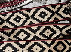 Backstrap Weaving- New Friends and Old Believers Inkle Weaving, Inkle Loom, Card Weaving, Tablet Weaving, Ethnic Patterns, Weaving Patterns, Textures Patterns, Fabric Patterns, Gaucho