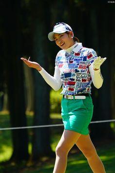 原 英莉花 Golf Player, Asian Woman, Asian Beauty, Mini Skirts, Lpga, Golfers, Female, Erika, Cute