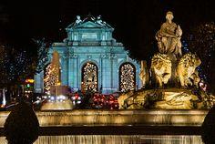 Madrid #Christmas.Puerta de Alcala.Lights