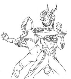 Ultraman Zero Coloring Pages Free Online Printable Sheets For Kids Get The Latest Images