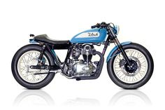 Blue Swingbob   Deus Ex Machina   Custom Motorcycles, Surfboards, Clothing and Accessories
