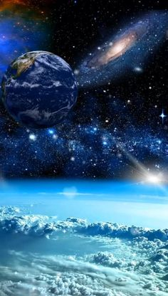 Star Wars Discover Happy Earth Day Love our Mother Earth for she is beautiful Beautiful Photos Of Nature, Beautiful Nature Wallpaper, Beautiful Fantasy Art, Beautiful Moon, Nature Pictures, Beautiful Landscapes, Beautiful Paintings Of Nature, Wallpaper Earth, Planets Wallpaper