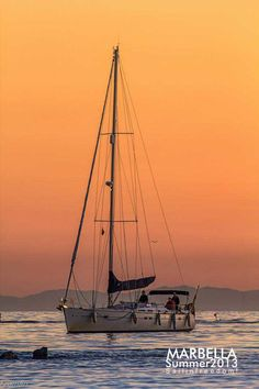 Sail in freedom! Marbella, Spain.