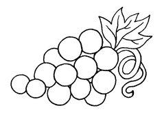 Omalovánky ovoce | i-creative.cz - Kreativní online magazín a omalovánky k vytisknutí
