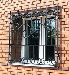 House Window Design, House Front Design, Iron Windows, Iron Doors, Modern Tv Wall, Modern Stairs, Iron Window Grill, Mediterranean Homes Exterior, House Extension Design