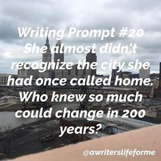 Writing Prompt #20.