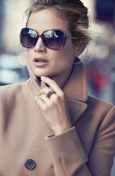 :: Classic camel coat. Loft.com   Fall 2011.