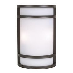 """Bay View Collection Bronze 12"""" High Outdoor Wall Light"""