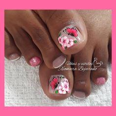 Nail Designs, Nails, Beauty, Work Nails, Pretty Toe Nails, Simple Toe Nails, Polish Nails, Toe Nail Art, Finger Nails