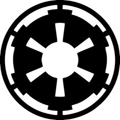 Star Wars Galactic Empire Custom Vinyl Graphic by VinylGrafix Empire Logo, Empire Tattoo, Tatoo Star, Star Wars Tattoo, Simbolos Star Wars, Galactic Republic, Symbolic Tattoos, Custom Vinyl, Star Wars