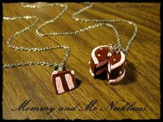 jaylin told me she wanted mommy and me necklaces!  I love having a girl!