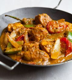 Chicken jalfrezi. A culinary triumph for curry-loving dieters – what's not to like? We've reworked this classic to encourage your ever-decreasing waistline, so get shopping and chopping.