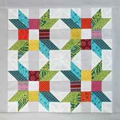 One of the Quilt Camp projects!
