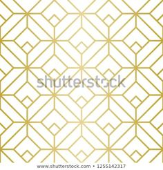 Seamless Vector Lines. Trendy Golden Look. Golden Pattern, Geometric Lines, Background Patterns, Royalty Free Stock Photos, Graphic Design, Luxury, Image, Visual Communication