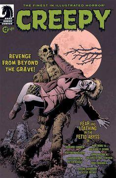 """Creepy #12""  Cover by Richard Corben"