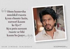 8 Heartwarming Lines From 'Dear Zindagi' To Help You Love Yourself & Your Zindagi Lyric Quotes, Movie Quotes, True Quotes, Words Quotes, Book Quotes, Motivational Quotes, Inspirational Quotes, Maya Quotes, Heart Quotes