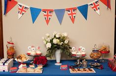 British Party - I'm thinking London Olympics party this summer!!! Dangit @Bethany Primrose, you've got me wanting to go to the UK.