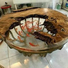 46 Amazing Resin Wood Table For Your Furniture - A coffee table is a small, low to the ground table that is that is often placed in front of a sofa in your main living area. Created to accommodate on. Wood Resin Table, Epoxy Resin Table, Epoxy Resin Art, Diy Epoxy, Diy Wood Table, Resin And Wood Diy, Epoxy Table Top, Metal Dining Table, Wood Tables