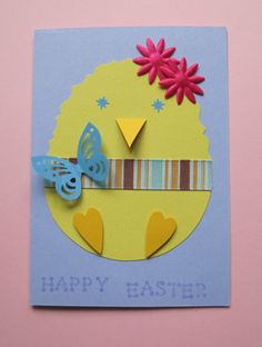 Easter Chick Card / Designs by Katie.