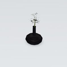 Shino&KCR's Modern Japanese Kitchen - Vase with Bamboo