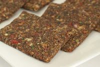 Raw Vegan Recipe: Soft n' Savory Hemp Onion Bread » Kristen's Raw