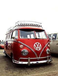 Okay, a confession; i would actually love to have a vw bus so it gets to be called a dreamcar this time: