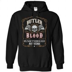 "Limited Edition ""Butler blood"" Shirt - #baseball tee #tshirt couple. I WANT THIS => https://www.sunfrog.com/Names/Limited-Edition--Black-27407040-Hoodie.html?68278"