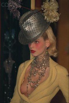 Christian Dior by John Galliano Fashion show details