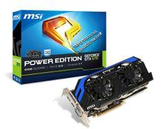 MSI NVIDIA GeForce GTX 670 OC 2GB GDDR5 2DVI/HDMI/DisplayPort PCI-Express Video Card N670 PE 2GD5/OC - http://androidizen.com/shop/msi-nvidia-geforce-gtx-670-oc-2gb-gddr5-2dvihdmidisplayport-pci-express-video-card-n670-pe-2gd5oc/