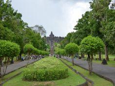 Road to Borobudur Temple