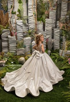 Princess Flower Girl Dresses, White Flower Girl Dresses, Girls Dresses, Mode Boho, Birthday Dresses, Stunning Dresses, Special Occasion Dresses, Pageant, Marie