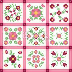 baltimore quilt patterns free   Applique Quilt Block Patterns   Patterns Gallery