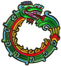 Sacred Symbols 3D: Quetzalcoatl - Aztec Serpent-God