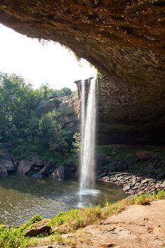 Noccalula Falls in Gadsden, Alabama, USA #US attractions #attraction discounts
