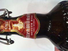 Altenmuster, cerveza de la región de Bavaria, exactamente de la ciudad con el mismo nombre.